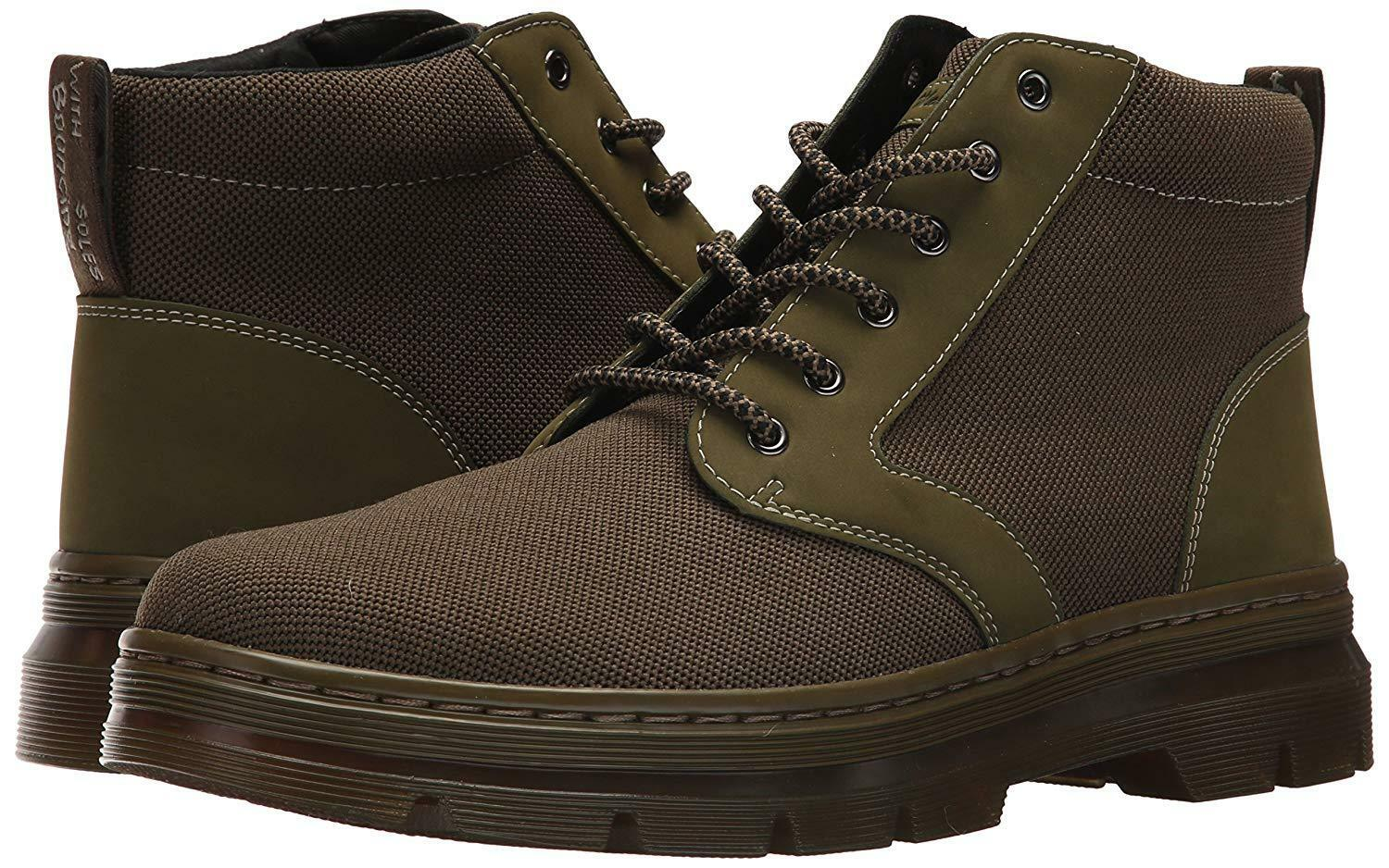 DR MARTENS CHUKKA BOOT MID OLIVE KNIT BRAND NEW Eu38