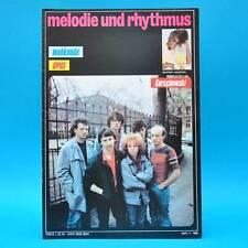 DDR Melodie und Rhythmus 7/1986 Opus Judas Priest Leo Sayer Toto Cutugno Houston