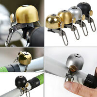 Bicycle Bike Handlebar Bell Ring Cycle Horn Retro Bell New Black