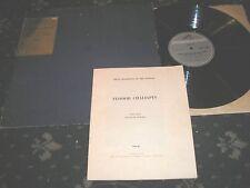 CHALIAPIN SCENES AND ARIAS FROM RUSSIAN OPERA IN SLIP CASE+LIBRETTO HMV COLN.100