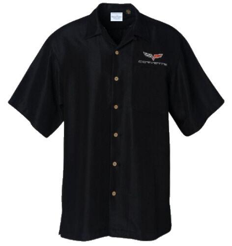 Corvette C6 Logo Chevy Car Camp Hawaiian Club Shirt, David Carey