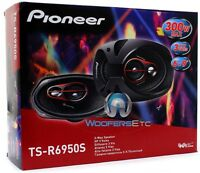Pioneer Ts-r6950s 6x9 300w 3-way Coaxial Car Audio Stereo Amplifier Speakers on sale