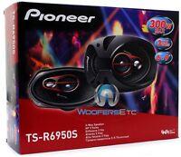 Pioneer Ts-r6950s 6x9 300w 3-way Coaxial Car Audio Stereo Amplifier Speakers on sale