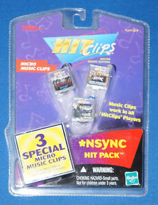 x3-LOT-NSYNC-TIGER-ELECTRONIC-HIT-CLIPS-MUSIC-SONGS-HASBRO-GIRLFRIEND-CELEBRITY