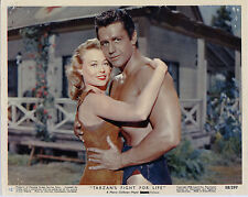 TARZAN'S FIGHT FOR LIFE photo GORDON SCOTT/EVE BRENT original color lobby still