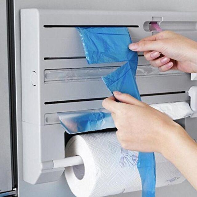foil cling film dispenser Black Superline 3in1 kitchen roll