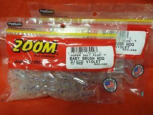 ZOOM Baby Brush Hog 2 PCKS #042-312 Disco Candy 12cnt
