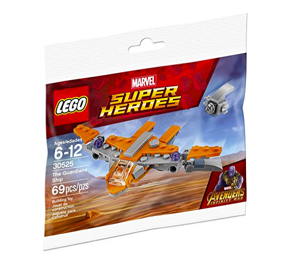 Lego 30525 Marvel Avengers Guardians of the Galaxy The Guardians Ship Poly Bag