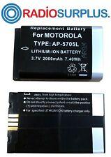 150x Ap5705l Battery For Dtr620 Motorola Radio 2000mah