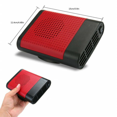 Upgrade 2in1 12V 150W Portable Car Heating Cooling Fan Heater Defroster Demister