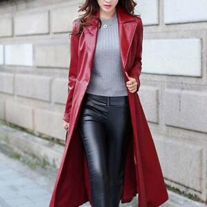 Sexy-Womens-Trench-Long-Lapel-Leather-Jackets-Windbreaker-Full-Length-Coats-2019