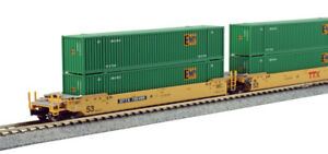 n scale kato 106 6174 ttx gunderson maxi iv double stack. Black Bedroom Furniture Sets. Home Design Ideas