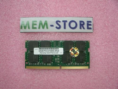 P52, P72, P1 4X70S69154 32GB DDR4 2666MHz SODIMM Memory ThinkPad laptops