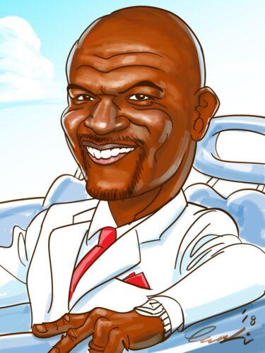Portrait Caricature by Disney Warner Bros Studio Artist!