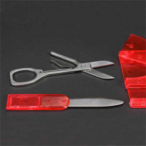 10in1 Multi Function Pocket Credit Card Outdoor Camping Survival Tool Applicable