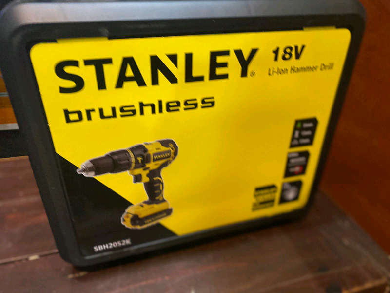 Brand New Cordless Stanely 18V Brushless Impact Pro. Drill for Sale...