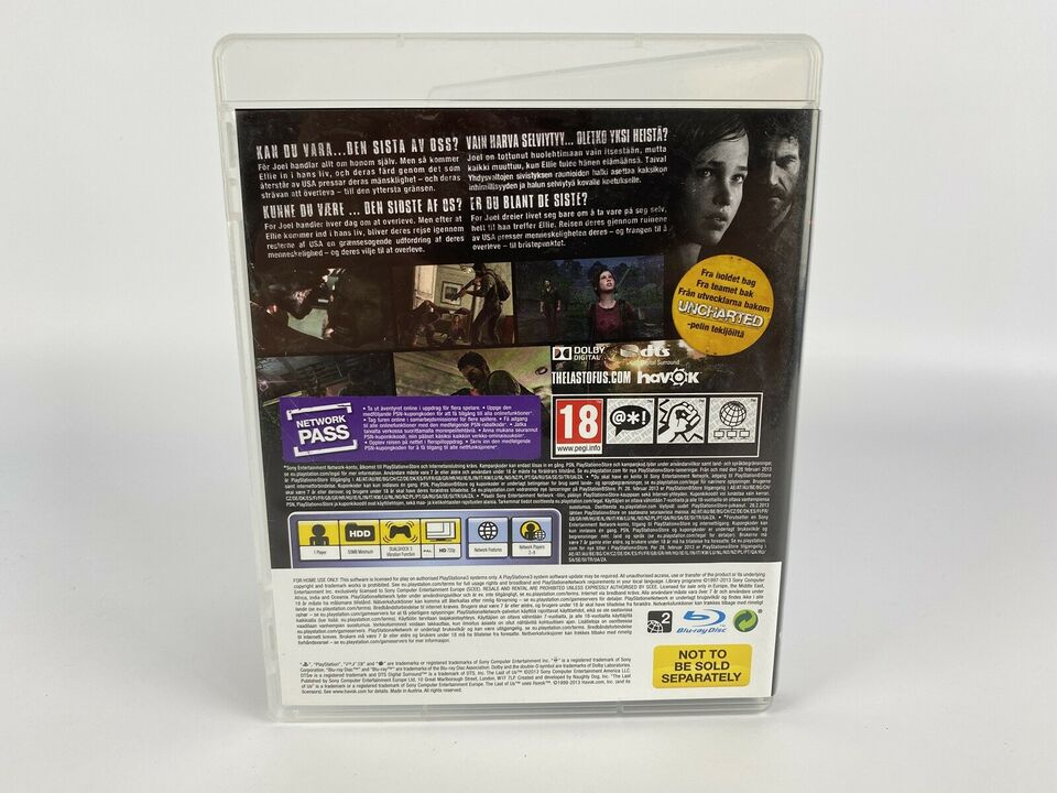 The Last of Us, Playstation 3, PS3