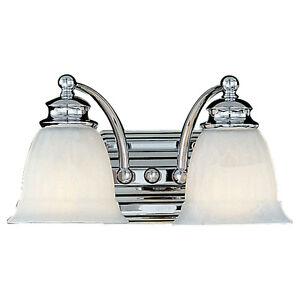 Murray feiss modern 2 light vanity sconce lighting fixture for Murray feiss bathroom lighting fixtures