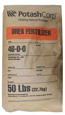 Pure Urea Nitrogen Fertilizer 46-0-0 Granular - 50 Lbs. ( Free Ship )