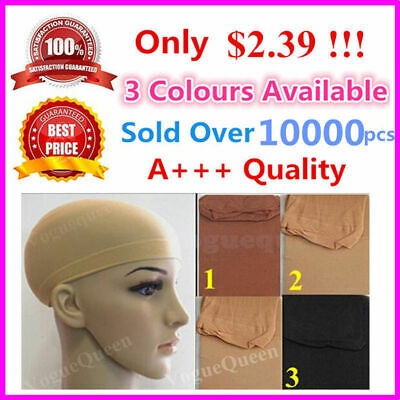 Details about  Brand New Wig Cap Stocking Control Hair Under Wig Soft Fabric