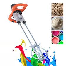 Mew 1800w Double Agitators Concrete Cement Mixer Stirrer Electric Mortar Mixer