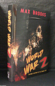 WORLD WAR Z Max Brooks DELUXE SIGNED LIMITED 1st ED Cemetery Dance ZOMBIE WAR