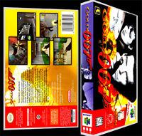 Goldeneye 007 - N64 Reproduction Art Case/box No Game.