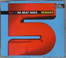 Red 5 - Da Beat Goes... (Remixes) - CDM - 1996 - Eurodance Thomas Kukula