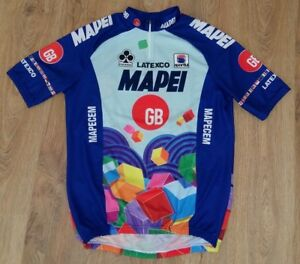Image is loading Mapei-Sportful-Colnago-Latexco-rare-vintage-cycling-jersey- 99ce2beb2
