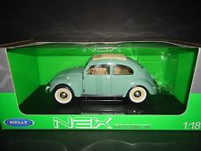 Welly Volkswagen Beetle Classic Green 1/18