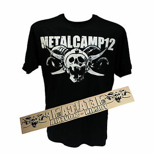 METALCAMP-2012-T-SHIRT-Carsticker-Power-of-Metal-Flagge-NEU-Metaldays-RAR