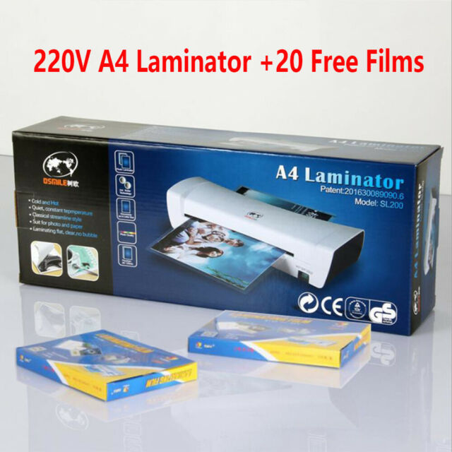 Cathedral Home /& Office A4 Laminator Laminating Machine Pouches Roller