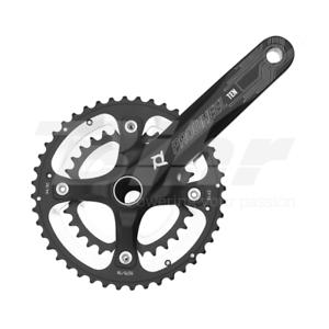 15402 Cgoldna e pedivella + movimento centrale bici 175mm  2x10 40 28T color black  sell like hot cakes