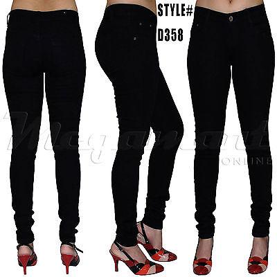 Womens Ripped Knee Cut Jeans Faded Slim Fit Ladies Skinny Denim Jeans Sizes 6-16