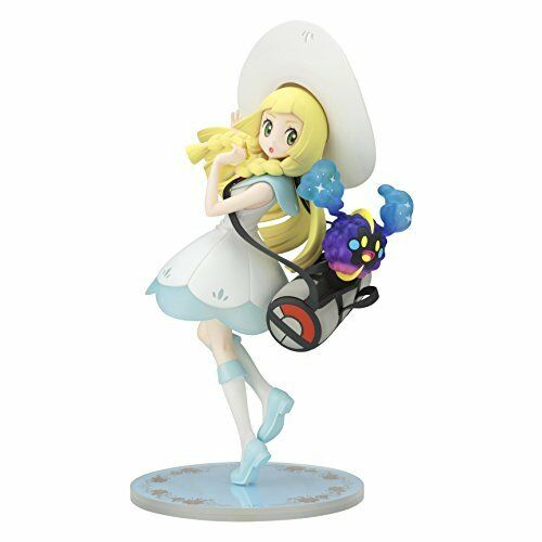 Pokemon Center Original Lillie & Cosmog 1/8 Scale Figure Sun & Moon from Japan