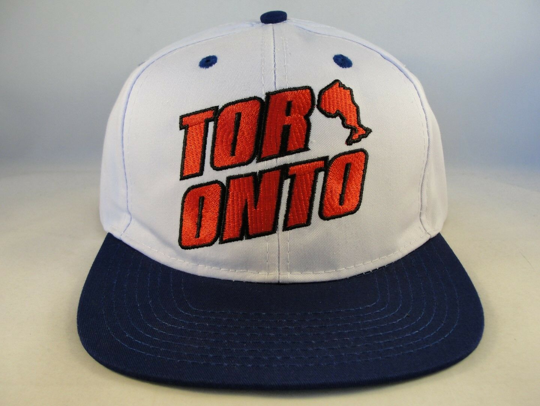Toronto Snapback Snapback Toronto Cap Hat White Blue a8fa2c