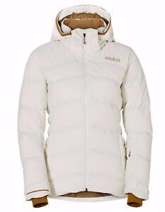 quality design 67253 99d79 Details zu ODLO Damen Skijacke Daunenjacke Cocoon Winterjacke weiß insulated
