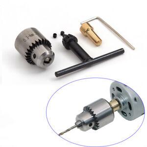 "Micro Motor Drill Chucks Clamp W// Key 0.3-4mm /& 3.17mm 1//8/"" Shaft Connecting Rod"