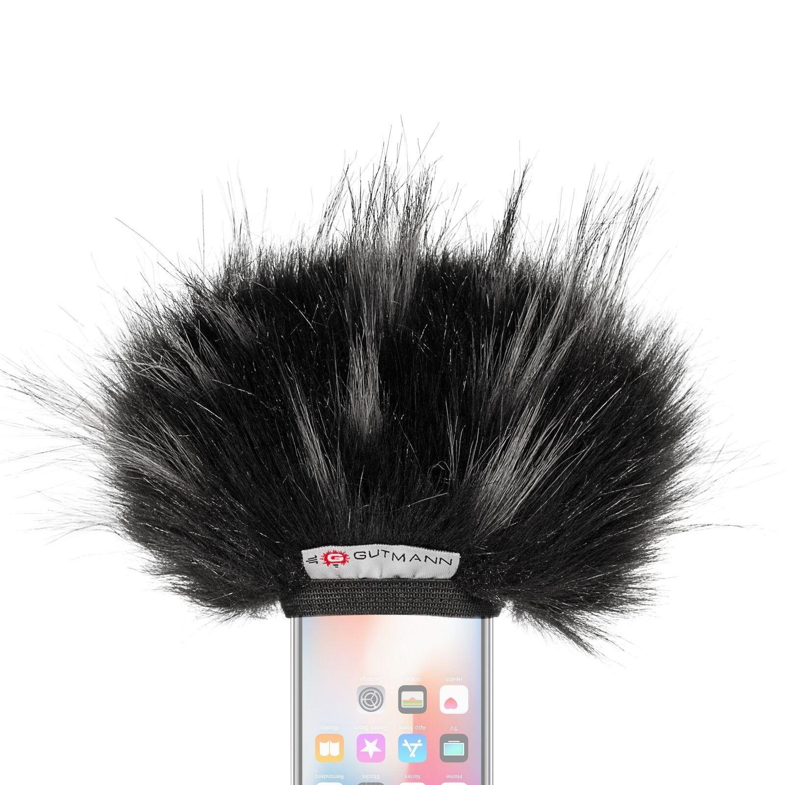 Gutmann Microfono Predezione Dal Vento per Samsung Galaxy S8 S9 Plus Premium Di