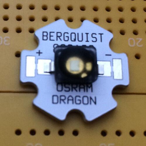 OSRAM Diamond Dragon Bianco 6500K 5W LED emettitore /& STAR montato 140 °