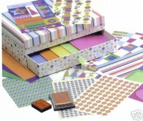 Grand tous Occasion Carte Artisanat Coffret cadeau Set Craft Cardmaking Scrapbooking