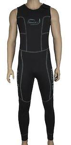 3mm-Neopren-SUP-Long-John-Neoprenanzug-Surfanzug-Kiten-Surfen-Wakeboarden