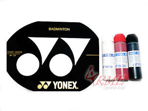Yehlex badminton racket chaîne pochoir