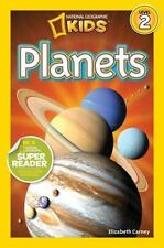 Readers: Planets by National Geographic Kids Staff, Elizabeth Carney and Laura Marsh (2012, Paperback)