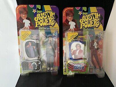 Evil Austin Powers Figurines McFarlane Lot-Austin Powers et Dr