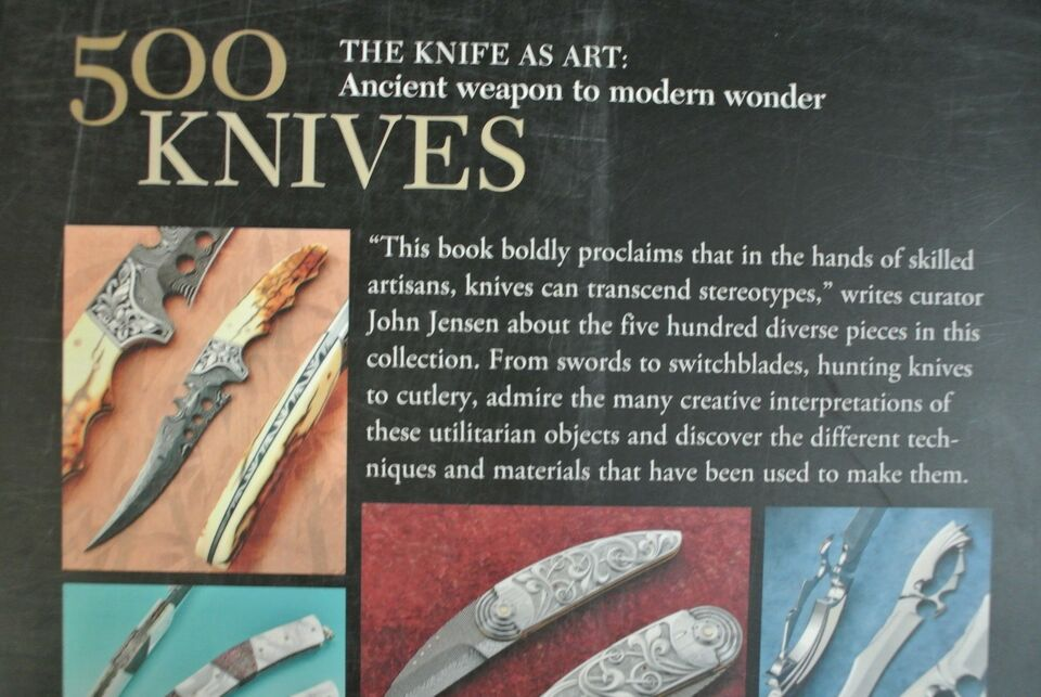 500 knives - celebrating traditional and , edited by marthe