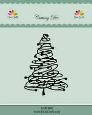 Dixi Craft Cutting /& Embossing Die TREE /& SNOWFLAKES LINE DCMD0057