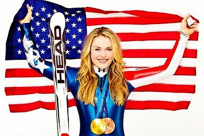 Choose a Size LINDSEY VONN OLYMPIC SKIER Photo Quality Poster #04