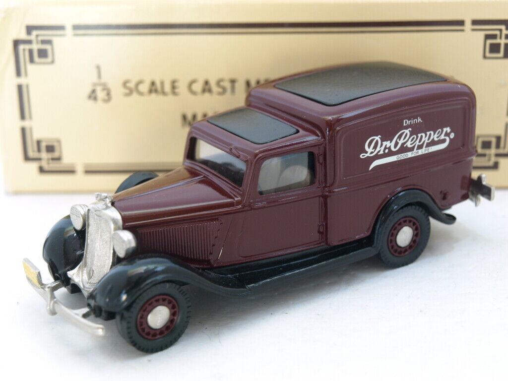 Brooklin BRK.16 1935 Dodge Van,Dr Pepper.