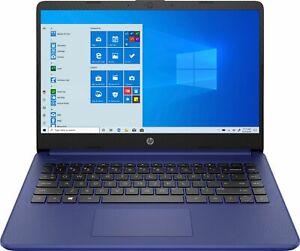 "HP - 14"" Laptop - Intel Celeron - 4GB Memory - 64GB eMMC - Indigo Blue"
